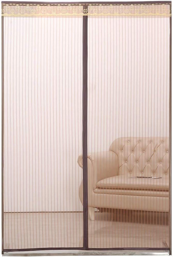 Puerta de pantalla magnética, sello de marco completo invisible con cortina de puerta durable autoadhesiva resistente: Amazon.es: Bricolaje y herramientas