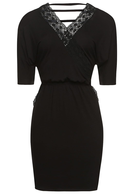 khujo Women's Wrap 3/4 Sleeve Dress