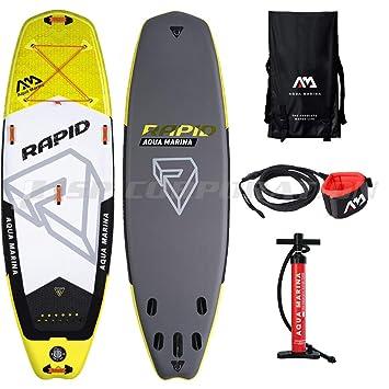 Aquamarina Rapid Tabla para Surf de Remo, Unisex Adulto, Large