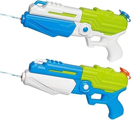 Set of 3 Water Pistols 3 Water Guns Summer Fun Beach Garden Toys