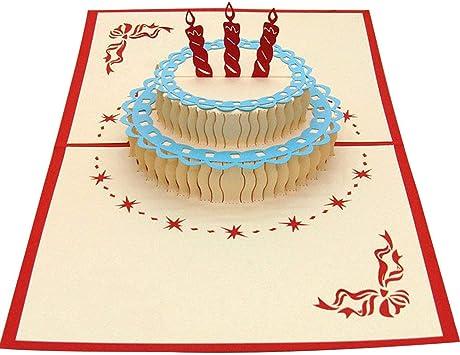 Peachy Amazon Com Polytree 3D Greeting Card Handmade Heart Ship Funny Birthday Cards Online Inifofree Goldxyz