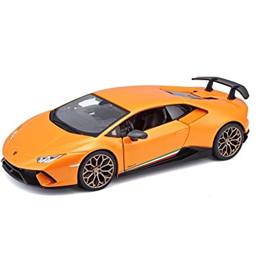 Bburago - 1/24 Scale Lamborghini Huracan Performante (Orange): Toys & Games