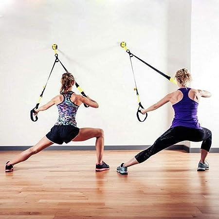 RXRENXIA Ganchos de Techo de Trapecio de Yoga: Interior o al ...