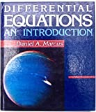 Differential Equations : An Introduction, Marcus, Daniel A., 069705957X