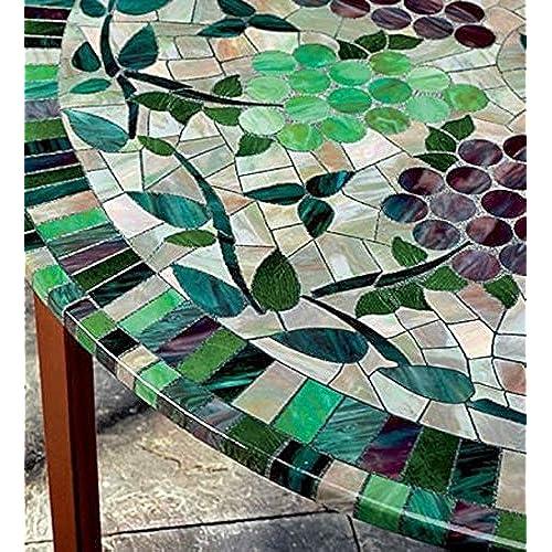 Mosaic Tile Table Top Amazon Com