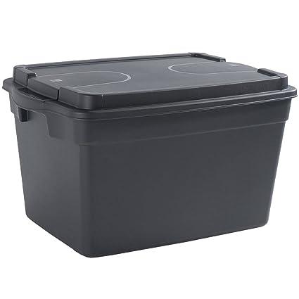 SIK Kis 8671000 0022 20 Black Box – Caja de almacenaje plástico negro ...