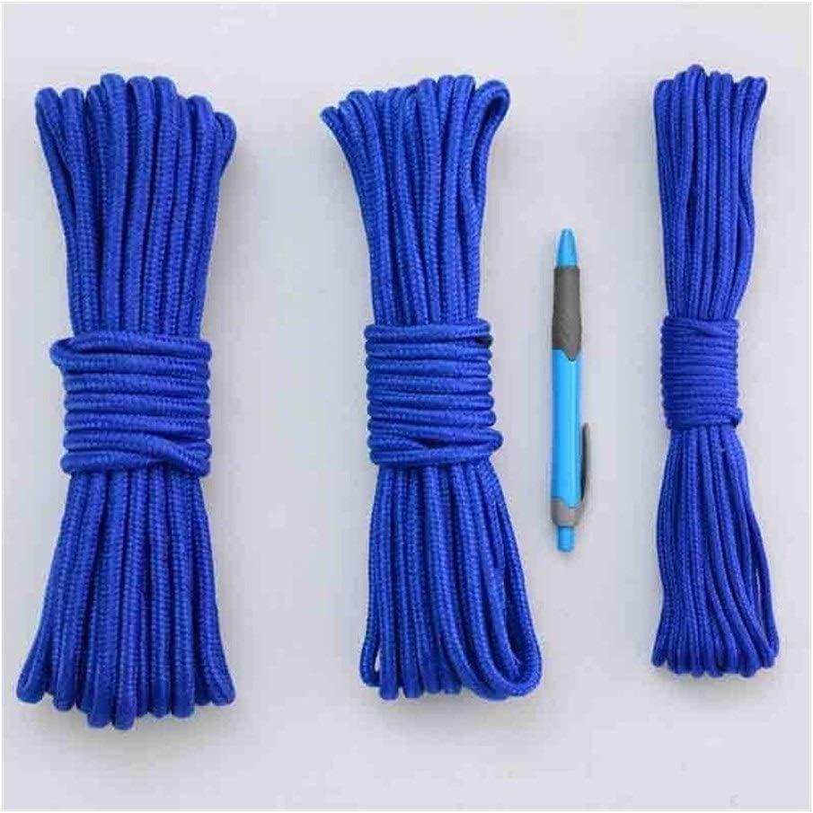 SLZC 10m 4-7mm Cuerda de Nylon Trenzado de Polipropileno ...