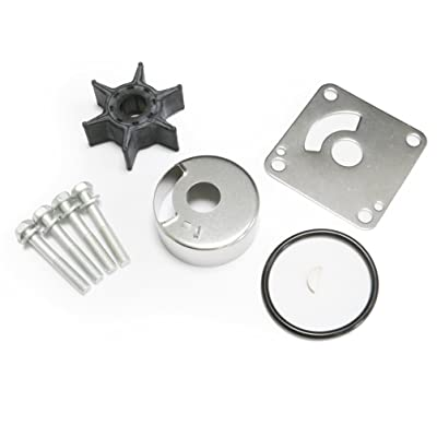 20HP 25HP OEM Yamaha Outboard Water Pump Impeller Kit Replacement Sierra 18-3431 6L2-W0078-00: Automotive