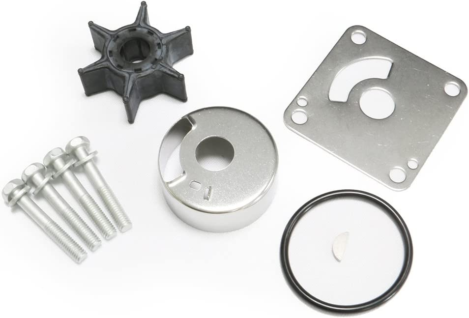 20HP 25HP OEM Yamaha Outboard Water Pump Impeller Kit Replacement Sierra 18-3431 6L2-W0078-00