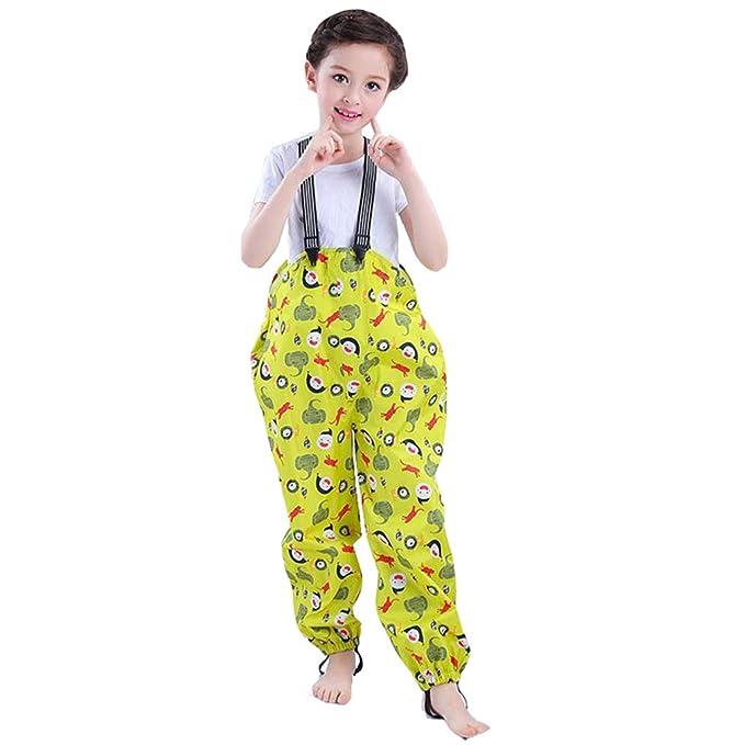 a7c9e18294dd9 mama stadt Pantalones para Niños Impermeable, a Prueba de Lluvia y Viento:  Amazon.es: Ropa y accesorios