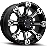 Gear Alloy Backcountry 18x9 Black Wheel / Rim 6x135 & 6x5.5 with a 18mm Offset and a 108.00 Hub Bore. Partnumber 719MB-8906818
