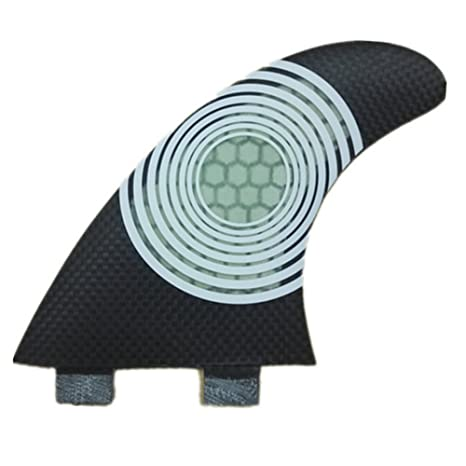 YQ Surf Fins Carbono Base Tabla De Surf G5 Size Propulsores ...