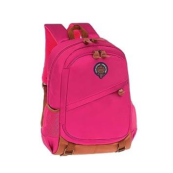 ZHIMABABY mochila escolar grande bolsas para adolescentes niñas bolsa de libros estilo británico impermeable mochila de alta densidad Oxford mochila de ...