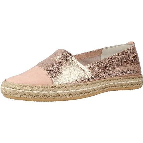 Alpargatas para Mujer, Color Rosa, Marca GEOX, Modelo Alpargatas para Mujer GEOX D Modesty Rosa: Amazon.es: Zapatos y complementos