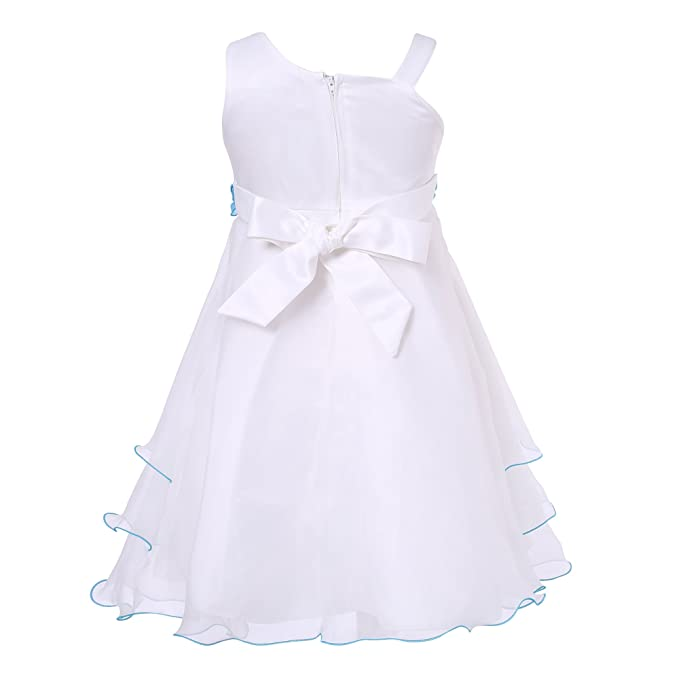 Amazon.com: Richie House Girls Elaborate Gown Floral Accents Size 3-10Y RH0681: Dresses: Clothing