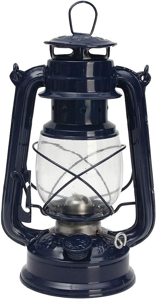 Vintage Oil Lamp Lantern Kerosene Paraffin Hurricane Lamp Light Outdoor