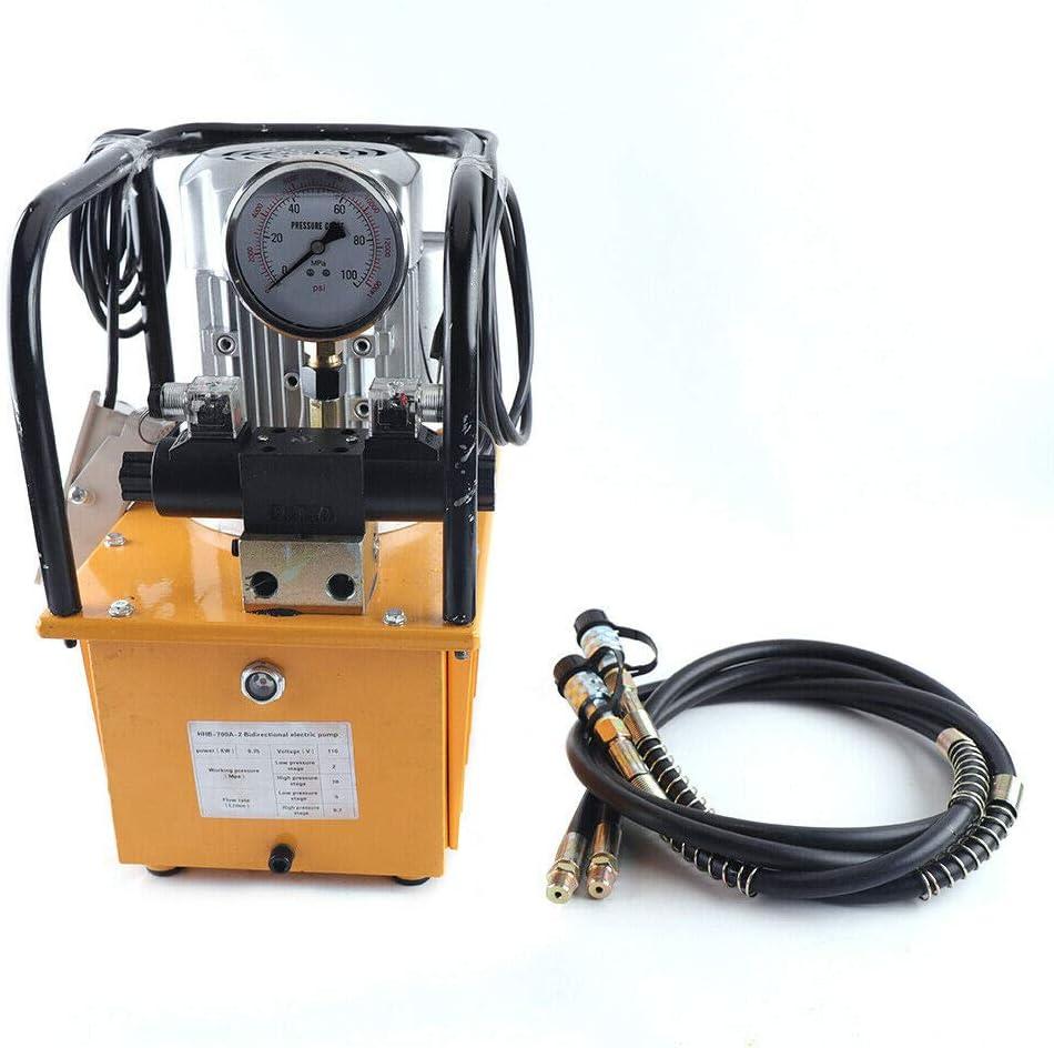 Electric Hydraulic Pump with Manual Valve Hydraulic Pump Electric 750W