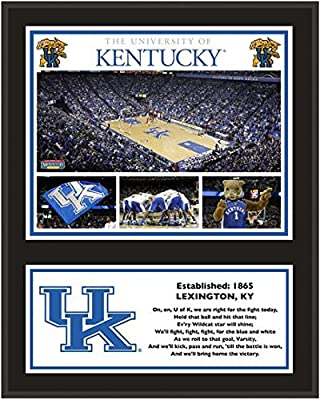 "Kentucky Wildcats Sublimated 12"" x 15"" Plaque - Fanatics Authentic Certified - College Team Plaques and Collages"