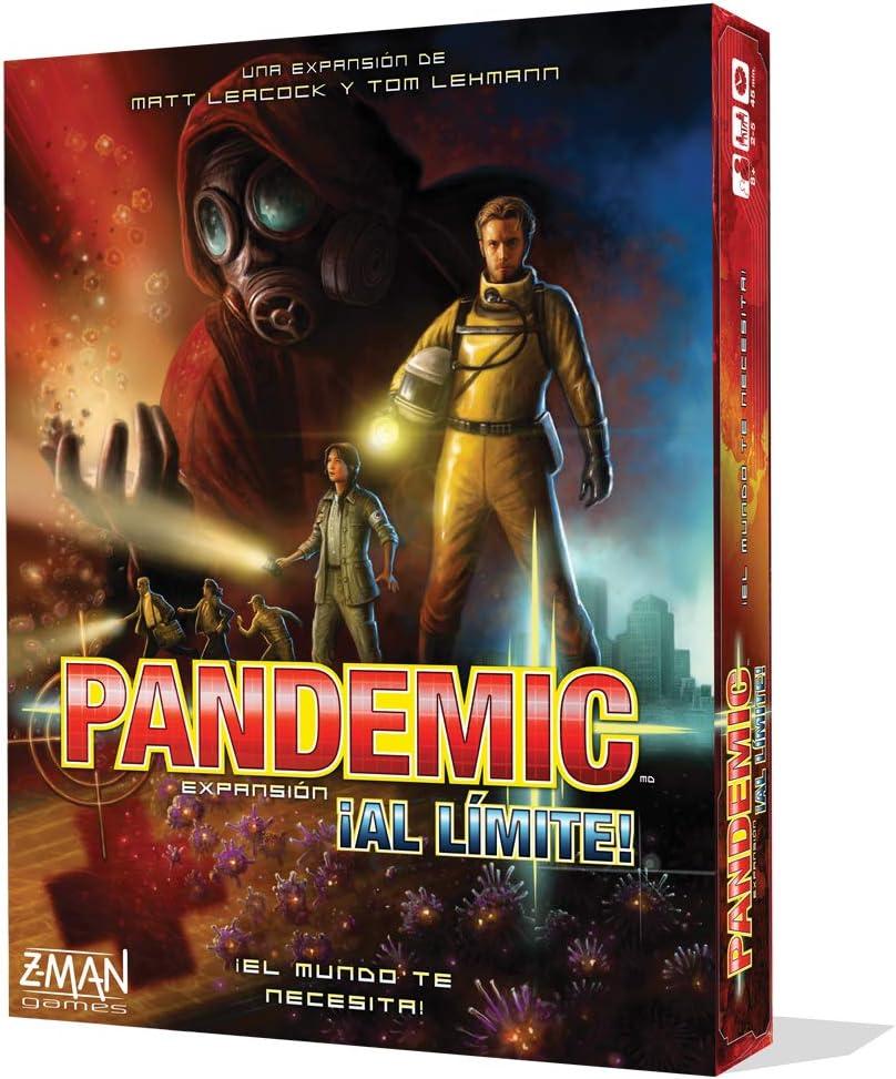 Z-man Games España - Juego de tablero Pandemic ¡al límite ...