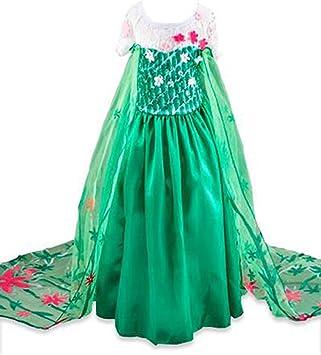 Disfraz de la Princesa ELSA ANNA de Frozen Vestido Niña (Talla 100 ...