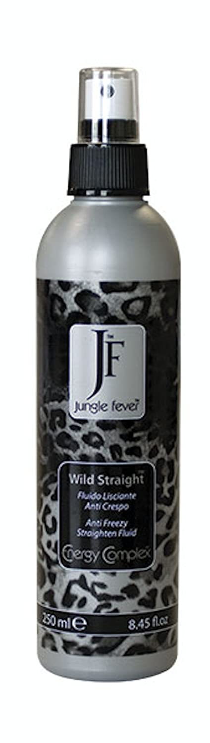 Fluido Lisciante Anti Crespo - WILD STRAIGHT - Professionale - 250ml Jungle Fever