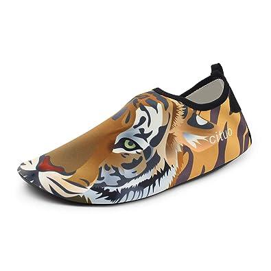 Amazon.com | Chiximaxu Water Sports Barefoot Aqua Socks ...