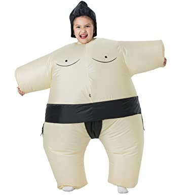 NEWBEA Sumo Inflatable Costume Blow Up Inflatable Costumes Dress Up Suit Ride Me Carry Fancy Dress  sc 1 st  Amazon.com & Amazon.com: NEWBEA Sumo Inflatable Costume Blow Up Inflatable ...