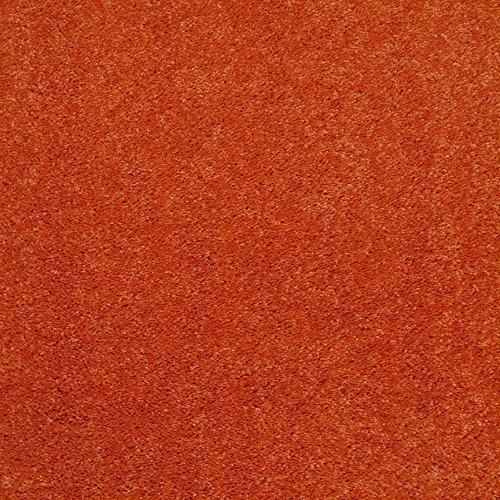 Bright House Solid Color Area Rug, 6' L, Square, Orange