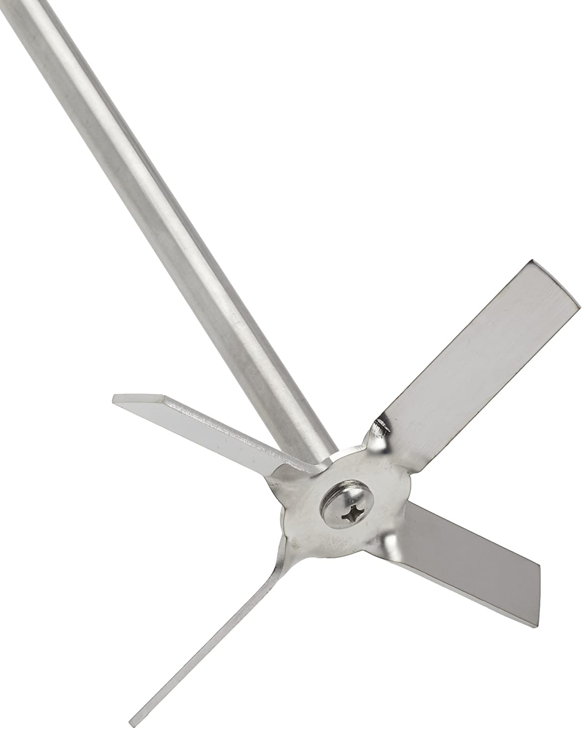 witeg impeller propeller type PL017 4 blades /Ø100mm for HS and HT stirrers rod /Ø8mm