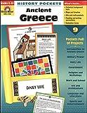 Evan-Moor EMC3705 History Pockets Ancient Greece