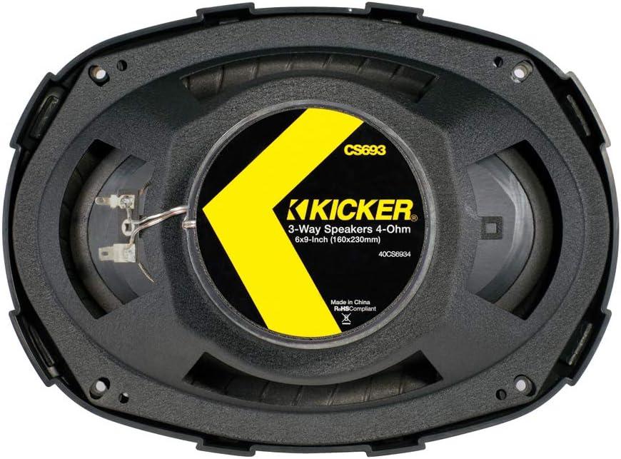 KICKER 44KSC69304 6x9 Triax-LS Negro Soporte de Pared para Pantalla Plana