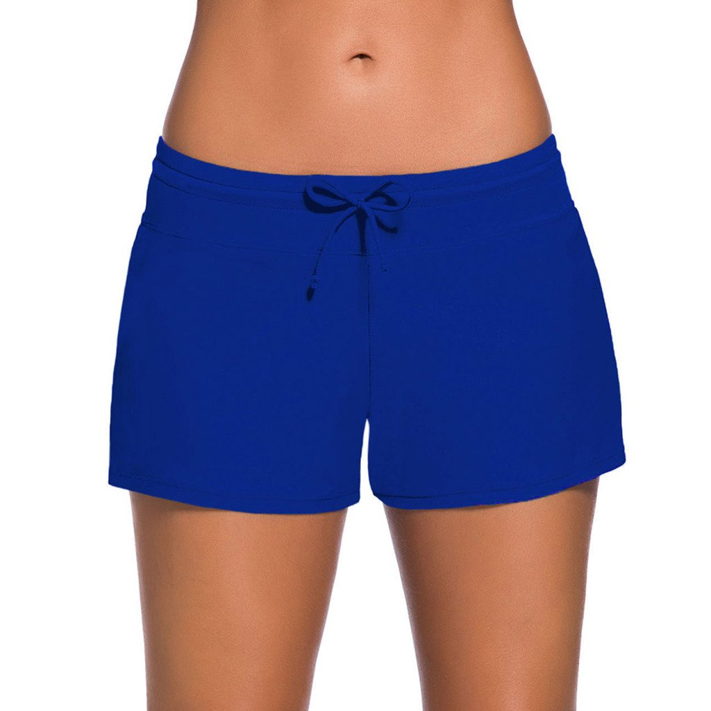 51ec5e27840ab Womens Plus Size Beach Boardshorts Material: 80% Nylon and 20% Spandex,Made  of quality smooth fabric, comfortable to wear. This Swim Boardshorts  Feature: ...