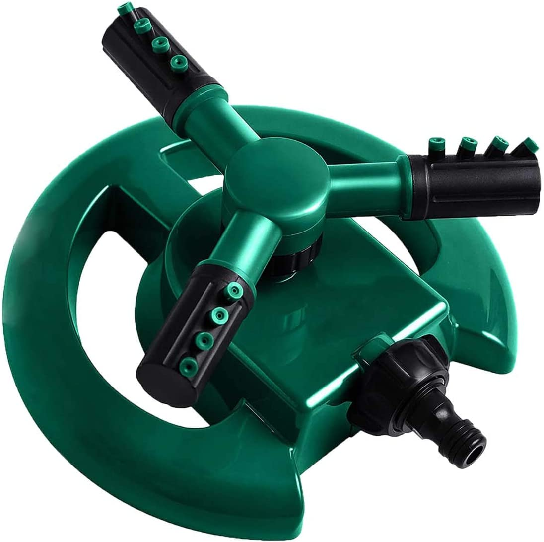 Garden Lawn Sprinkler Head Rotatable Watering Irrigation Spray System For Parks