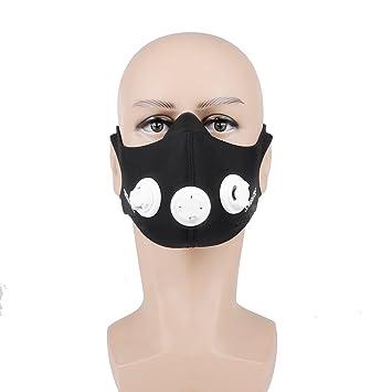 Entrenamiento Mask, TopCrazy Sport Máscara respiratoria Máscaras de fitness entrenamiento HHEN fr Elevation Training Mask