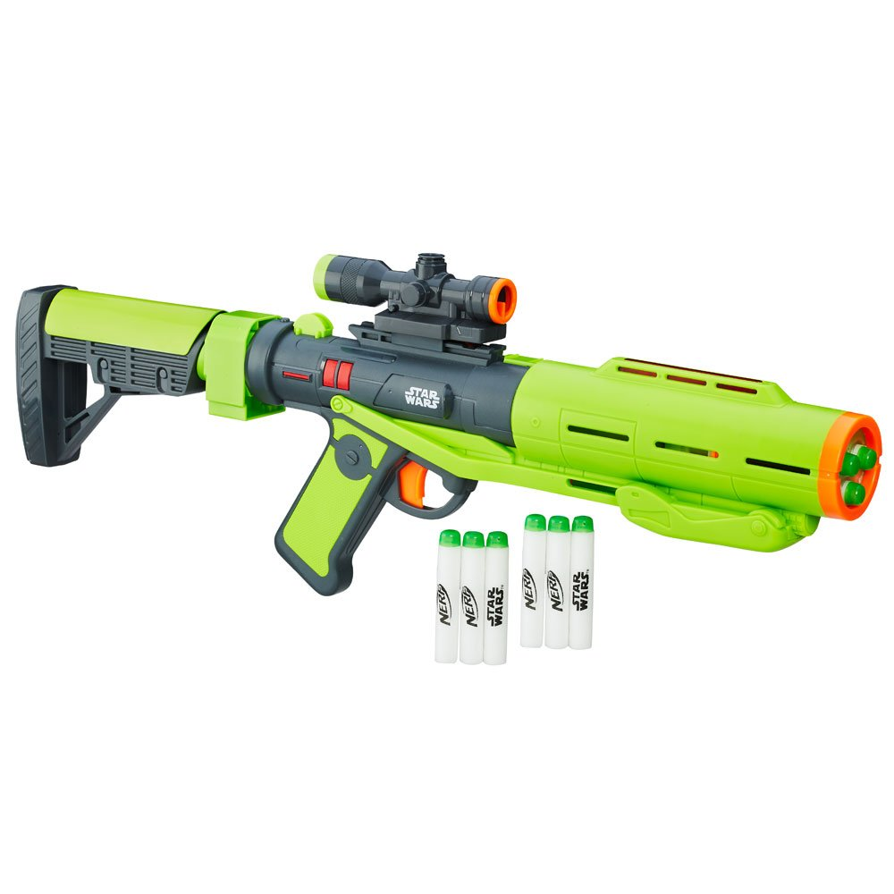 NERF B9787 Star Wars - Rogue One Shark Trooper Deluxe Blaster TO