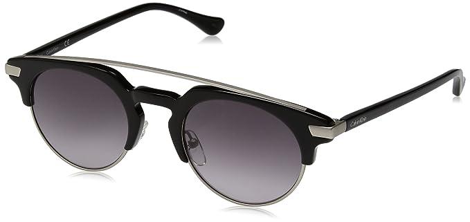 Amazon.com: Calvin Klein ck4318s Retro Ronda anteojos de sol ...
