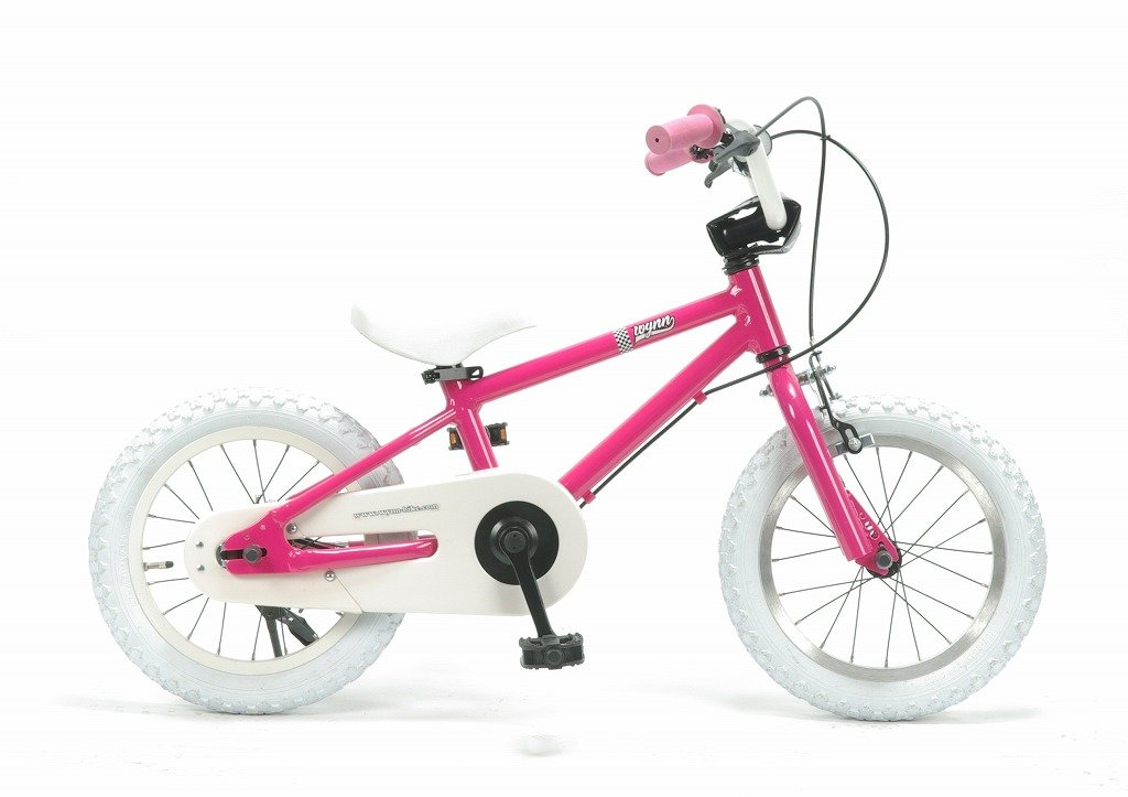 【子供用自転車 14インチ】ジュニア用BMXスタイル 《Wynn14》 湘南鵠沼海岸発信 B018C90IYIピンク