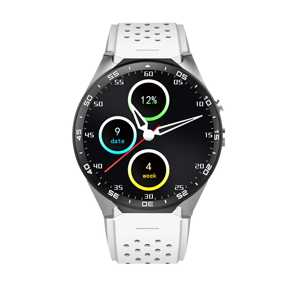 Kingwear KW88 Smartwatch Teléfono 3G WCDMA 1,39 pulgadas ...