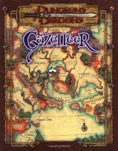 Dungeons and Dragons Gazetteer by Williams, Skip, Holian, Gary, Mona, Erik, Reynolds, Sean, We (2000) Paperback