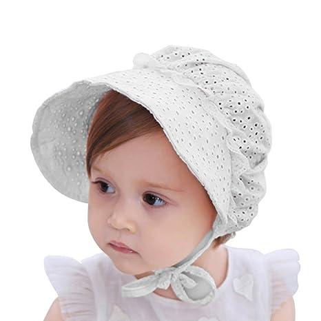 Sun Protective Wide Brim Swimwear Color Dot Sun Hat IMLECK Baby//Toddler Girls UPF 50