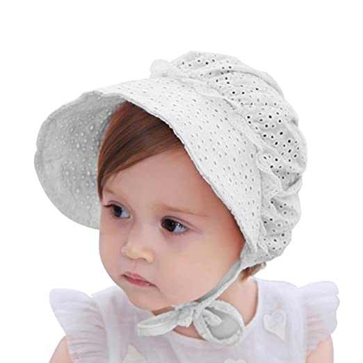 My Little Baby Baby Girls Sun Hat Summer Baby Hats Fashion Hollow Sun  Protection Caps Floppy 0fe06f2182f