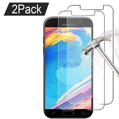 6ffbc791181285 Lot de 2  Samsung Galaxy A5 2017 Verre trempé Protecteur d écran ...