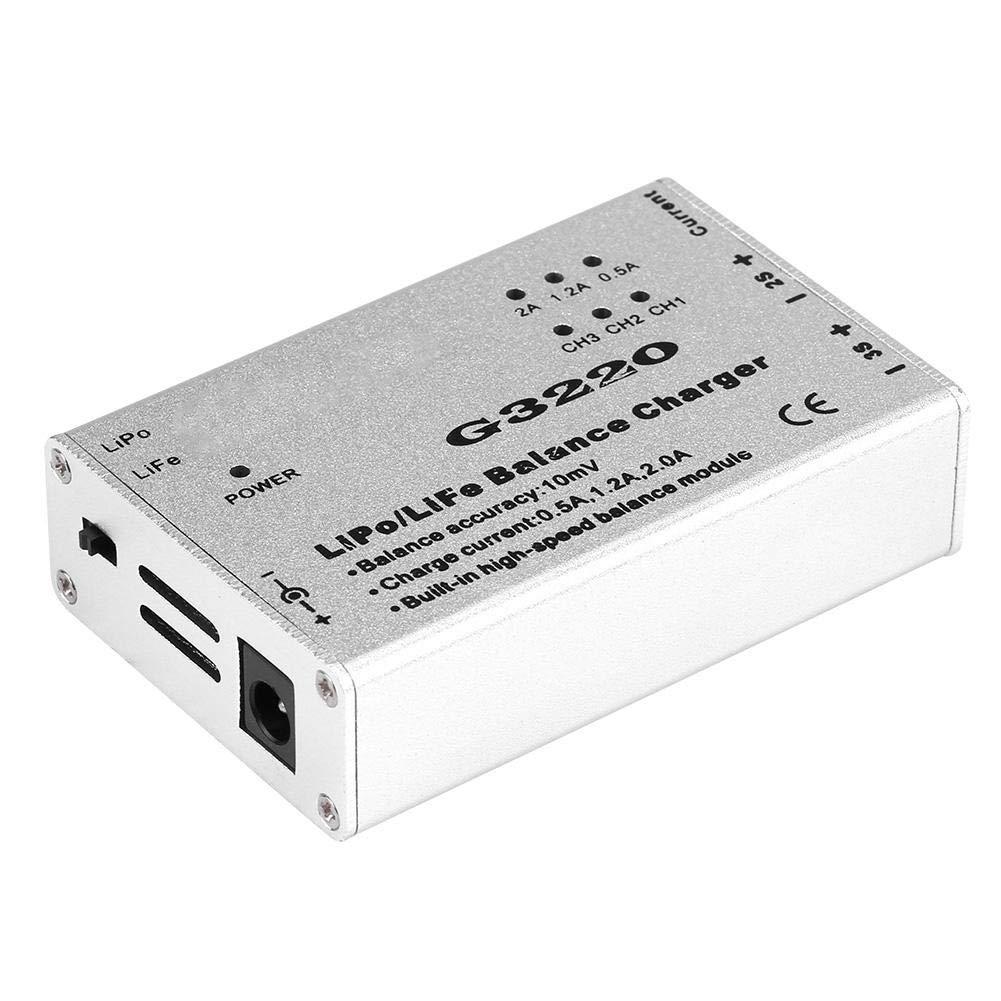 Life Drone Dilwe Adaptateur de Chargeur d/équilibre G3220 de Haute pr/écision 2-3S pour Batterie LiPo