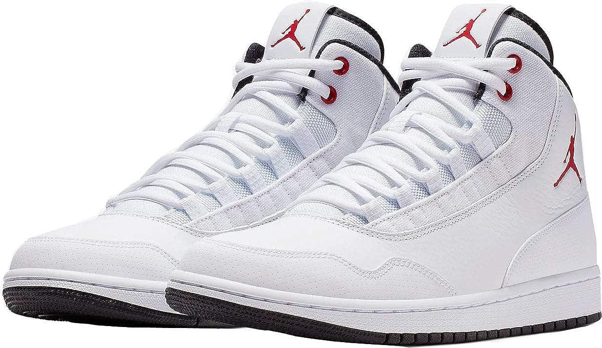 Nike AIR Jordan Executive White/Gym RED