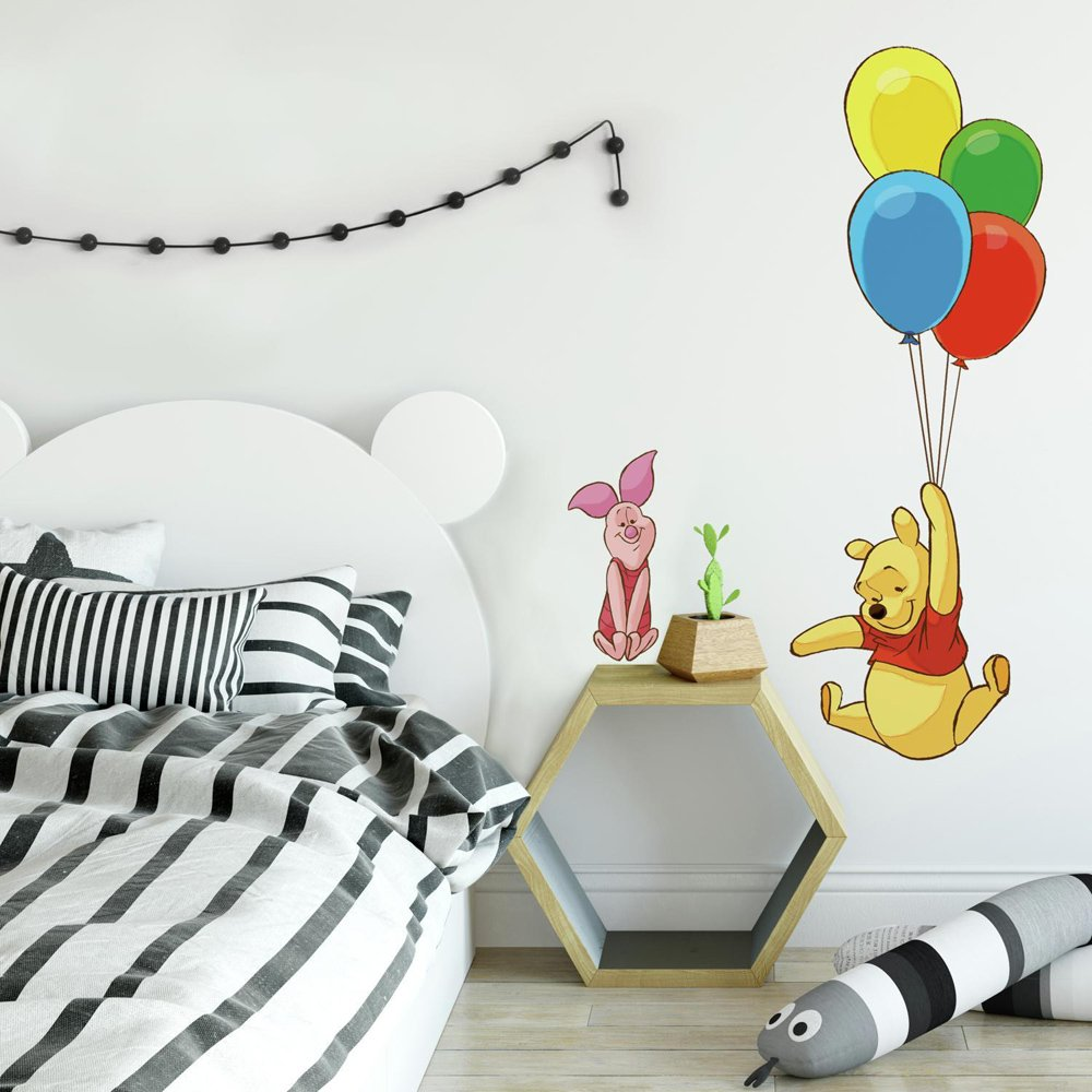 RoomMates Winnie The Pooh & Piglet Peel and Stick Giant Wall Decal by RoomMates
