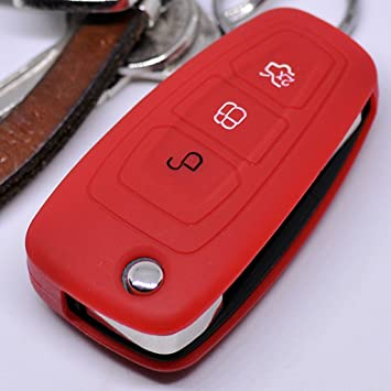 Key Soft Case Cover Funda Protectora Ford Mondeo Focus Key S ...