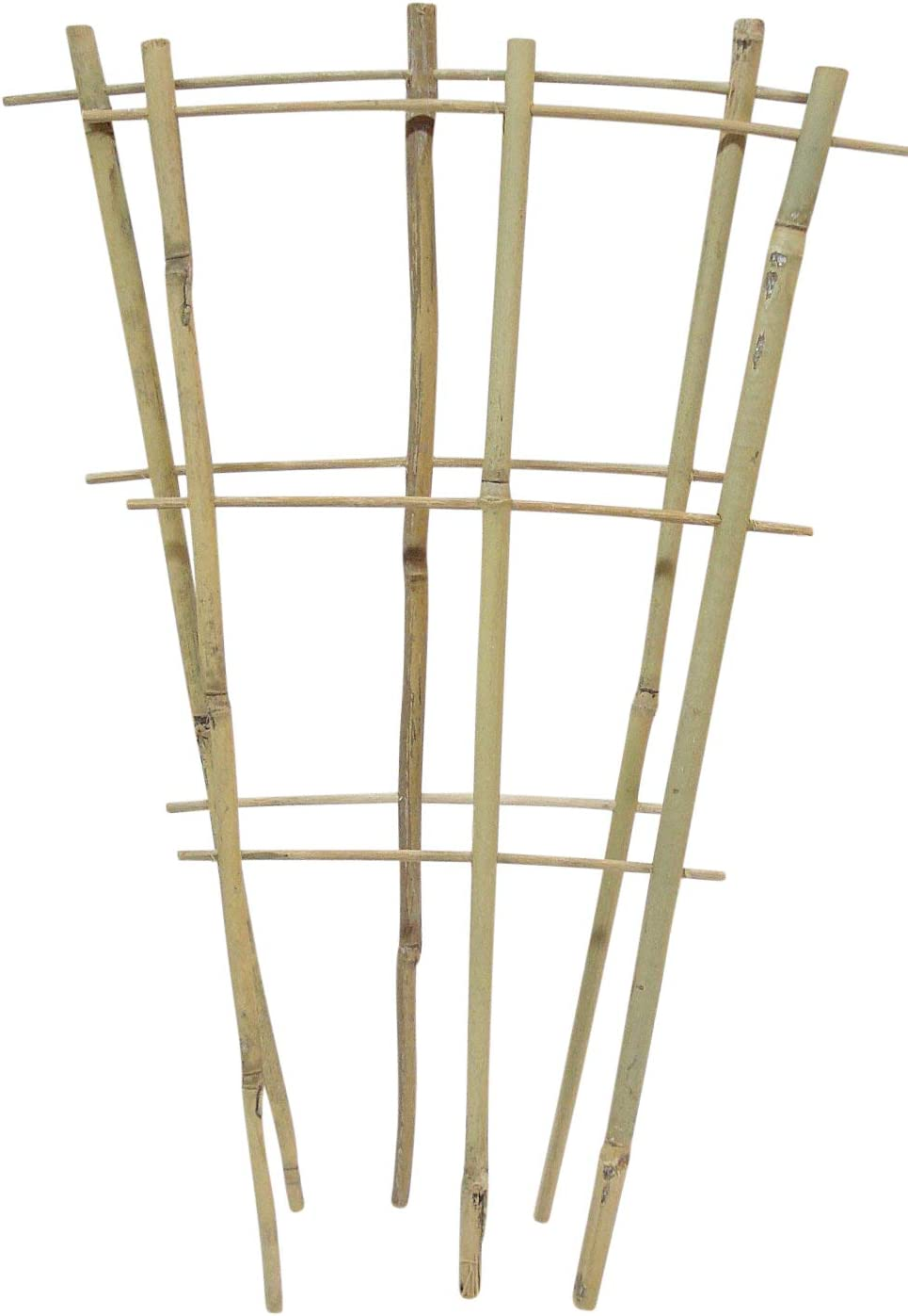 Natural Color Bamboo Trellis 4 inches Tall - Quantity 4