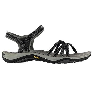 fd7c09774239 Karrimor Womens Martini Outdoor Sandals Shoes Touch and Close Textile  Vibram Black UK 5 (38)  Amazon.co.uk  Shoes   Bags