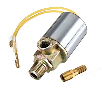 amazon com : preamer heavy duty 12v air horn electric solenoid valve for  train truck : sports & outdoors