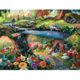 Ceaco Alice in Wonderland Thomas Kinkade Disney Jigsaw Puzzle - 750 pieces